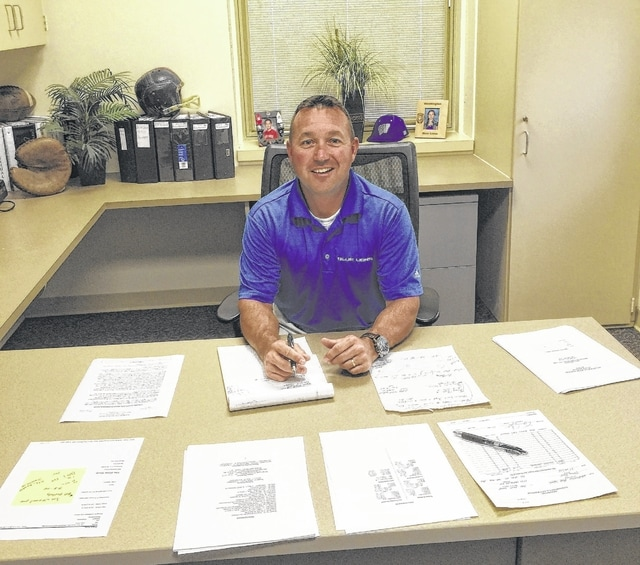 """New WHS Principal Tracy Rose is excited to work with the students, teachers, and community in his new role. """"I've got a lot of plans, I want to keep the community informed and proud of the kids that come out of this school,"""" Rose said."""
