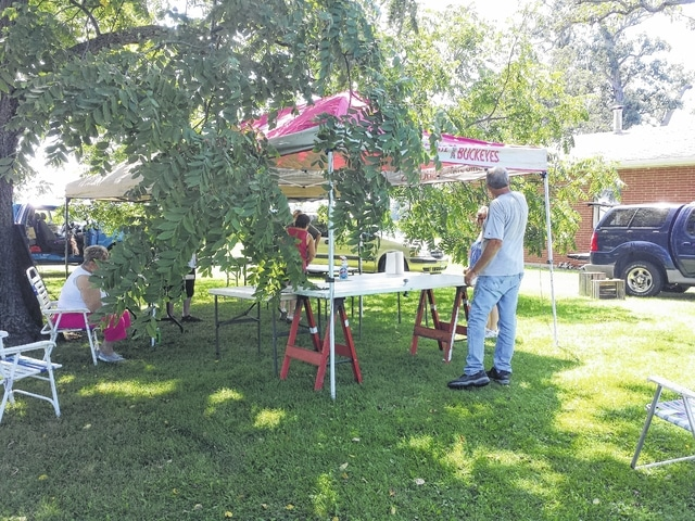 A large vendor fair will be held today at the home of Becky and Max Corns, 6685 Boyd Road, where over 110 vendors have signed up to sell an assortment of items from 9 a.m. until 6 p.m.