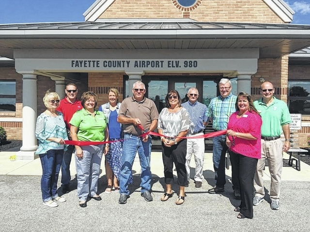 The Fayette County Airport joined the Fayette County Chamber of Commerce recently.