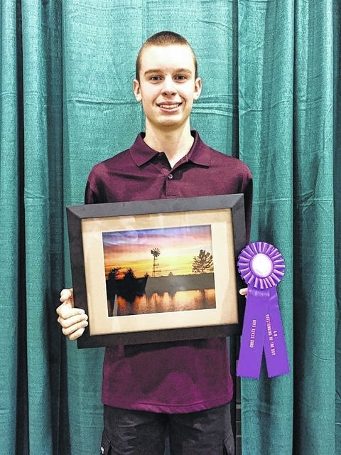 "Spencer Minyo of Washington C.H. won an ""Outstanding of the Day"" in the Mastering Photography category at the 2015 Ohio State Fair. Minyo was judged on his knowledge of photography and his photographic ability. He is a member of the Charm-n-Farm 4-H Club, and a sophomore at Washington High School. Minyo is the 15-year-old son of Buck and Debbie Minyo."