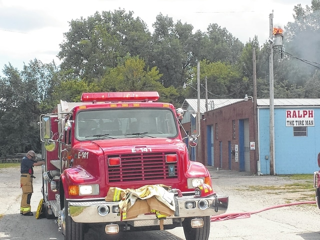 The Washington C.H. Fire Department responded to reports of a transformer fire on South Hinde Street. Businesses in the area suffered from power loss while the fire department worked to put out the flame.