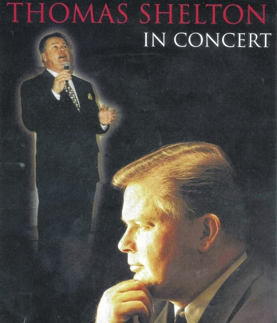 Thomas Shelton will perform in concert at the New Holland Church of Christ on Sept. 6 at 6:30p.m.