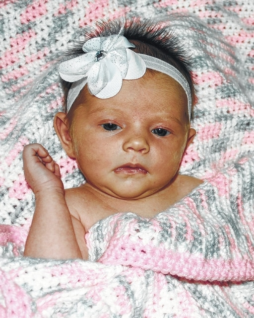 Andrew and Sara Johnson of Washington C.H. have announced the birth of their second daughter, Abigail Lynnlie Johnson on Aug. 2, 2015 at 10:07 p.m. at the Adena Medical Center in Chillicothe. Abigail weighed 7 pounds, 6 ounces and was 20-and-a-half inches long. Maternal grandparents are Elaine Evans and Jeffrey Young; paternal grandparents are Ric and Stephanie Johnson, and godparents are Chris and Heather Williams.