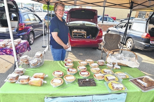 """The Pie Lady"" will be at Wednesday's Fayette County Farmers Market."