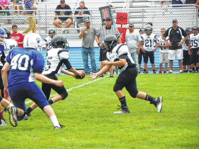 The Washington Blue Lion seventh grade football team hosted the seventh grade team from Miami Trace Wednesday, Sept. 10, 2015. Washington was able to grab the victory 42-0 despite the copious talent coming from the young Panthers.