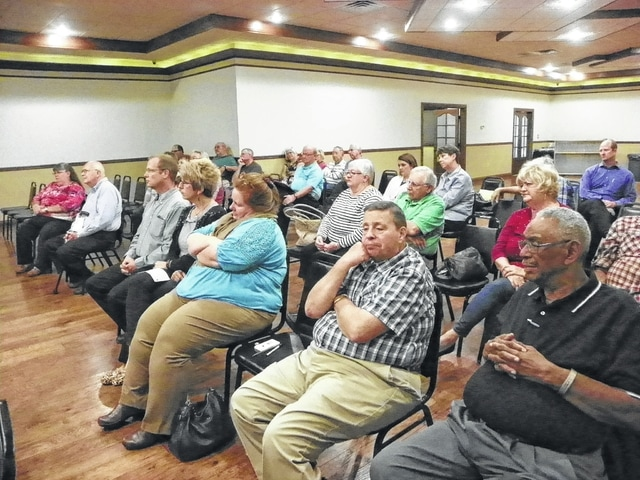 Meet The Candidates night, sponsored by the Kiwanis Club, was well attended with concerned community residents looking to ask questions of the candidates.