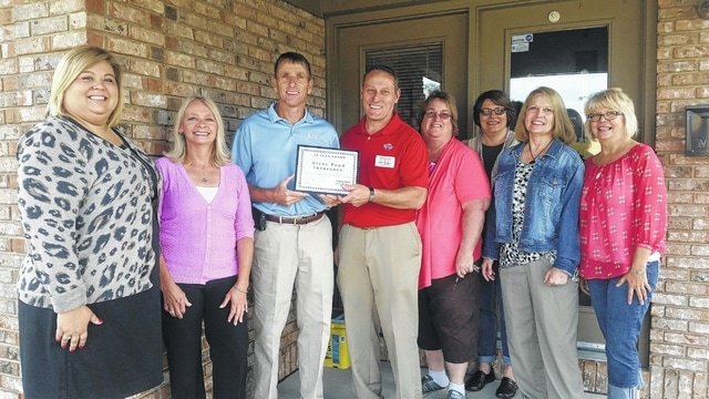 Fayette County Chamber of Commerce members recently celebrated with Steve Pond and Pond Insurance Services in Washington C.H. for 30 years of business.