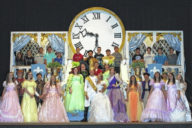 The cast of Washington High School is ready to entertain audiences Nov. 13, 14 and 15 at the Historic Washington Middle School in their performance of Cinderella. Friday and Saturday night the performances will be at 7 p.m. and Sunday will begin at 2 p.m. A special party will be held for children in the high school cafeteria on Saturday, Nov. 14 from 3 to 4 p.m. Tickets range from $10 to $6 and can be purchased online at washingtonch.k12.oh.us or at the door the days of the performances.