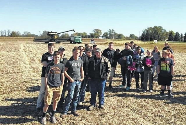 This spring, the Miami Trace FFA chapter planted a combined 100 acres of corn and soybeans on two farms. Thanks to the efforts of many families and businesses, these fields turned out a profit that will benefit graduating seniors and future FFA projects.