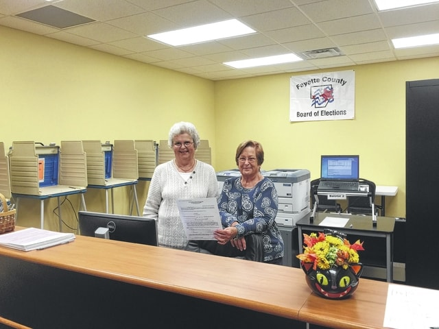 Carrie Ferguson and Patty Ann Zinn have been working with the Board of Elections for decades, but due to a change in OPERS healthcare options, they are no longer allowed to work, or they'll lose their Medicare benefits.