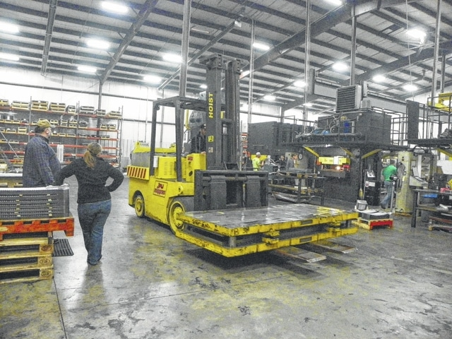 WCR, Incorporated is nearing 20 years of manufacturing in the county and ships to other countries along with other states. Chief operation officer Mattias Olsson conducted an interview and tour of the facility on Tuesday for the Record-Herald.