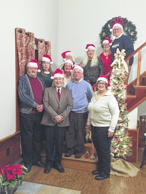Fayette County Master Gardeners were recently recognized for their accomplishments at their annual holiday dinner and award ceremony.