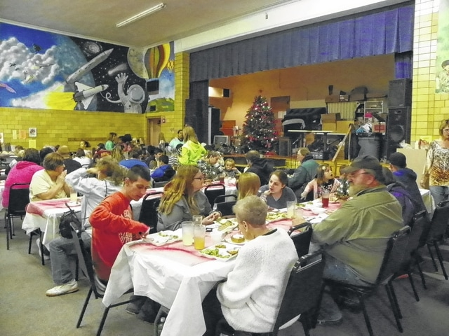 The Well at Sunnyside held its annual Christmas dinner Tuesday evening for the community to come and enjoy a hot meal.