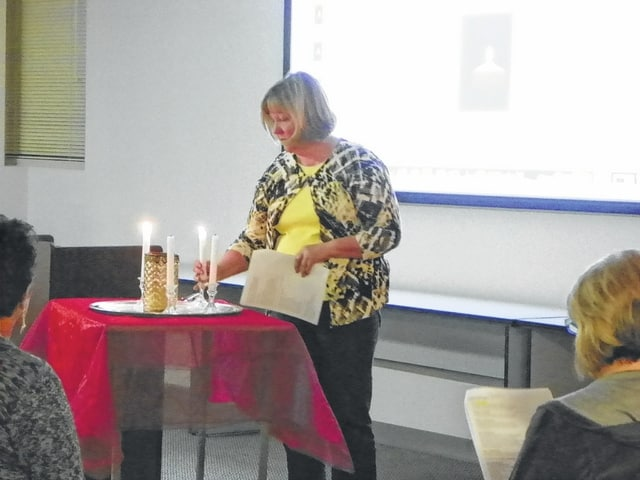 The Fayette County Chapter of The Compassionate Friends held a candle lighting ceremony Sunday evening at the Fayette County Memorial Hospital Medical Arts Building II to honor lives lost that continue to impact the families.