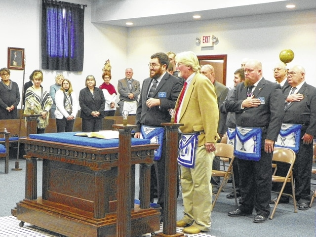 David Carr was installed as the Fayette Lodge #107 of the Free and Accepted Masons of the State of Ohio Master Saturday at the lodge during the officer installation ceremony.