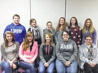 The 2016 4-H FCS Board (pictured) will be helping youth at the Cooking and Sewing Fun Night on Feb. 19.