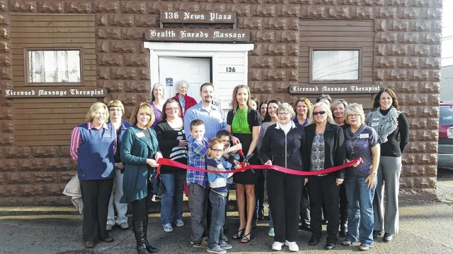 The Fayette County Chamber of Commerce recently welcomed Health Kneads Massage, 136 News Plaza, and new owner Ashley Wightman to the community.