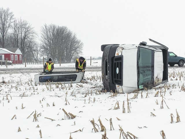 A rollover accident on U.S. Route 62 near Sunny Maple at around noon Monday involved one vehicle and a single female occupant, who reportedly suffered no serious injuries. According to the Fayette County Sheriff's Office, the vehicle slid off the roadway and rolled over, where it came to rest in a field just off the roadway. Deputies directed traffic for around 30 minutes before crews came to remove the vehicle from the scene.