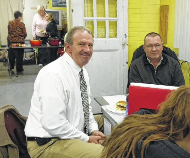 Left to right, Diversion Officer David Woolever and Discipline Officer Roger Lovett, (Not shown: Alternative School Director Joe Henry, Juvenile Probation Officers: Lori Gentry and Scott Inskeep) strive to educate at the Alternative School and develop a more cooperative attitude in the students who then may be able to learn and grow within their home school's guidelines.