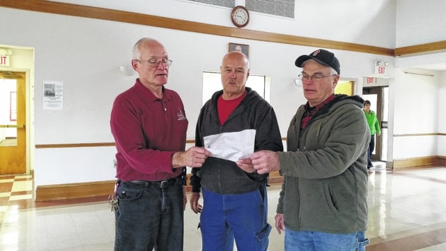 The St. Colman Lenten Fish Fry organizers, left to right: Paul Ondrus, Dave Kearney and Jim Garland.