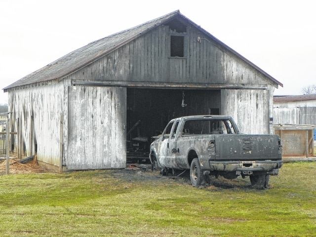 The Washington Fire Department responded to a barn fire on Bush Road Sunday morning which resulted in significant damages.