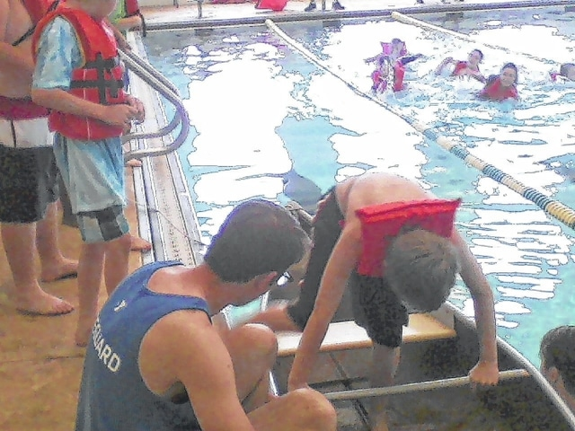 As part of National Water Safety Month, the Fayette County Family YMCA is providing fourth grade students from Washington Court House and Miami Trace school districts the opportunity to participate in the annual water safety program sponsored by Fayette County Memorial Hospital (FCMH).