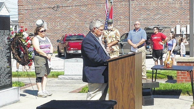 The Village of Jeffersonville held Memorial Day festivities on Monday including a parade and annual ceremony. The speaker for the ceremony was State Rep. Gary Scherer (R-Circleville).