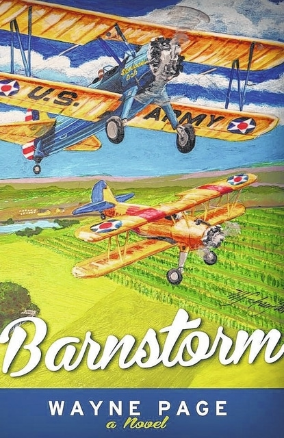 Barnstorm is a fun and uplifting novel about airplanes and finding oneself. The story begins at the Clinton County municipal airport.