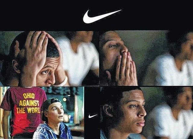Kollyn Crenshaw was one of several devoted Cleveland Cavalier fans to be featured in a recent Nike commercial.