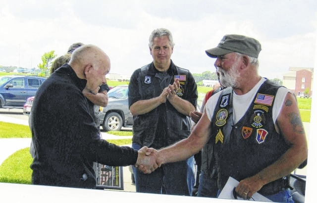 The American Legion Post 25 Riders recently held a ride to show their appreciation for Fayette County veterans.