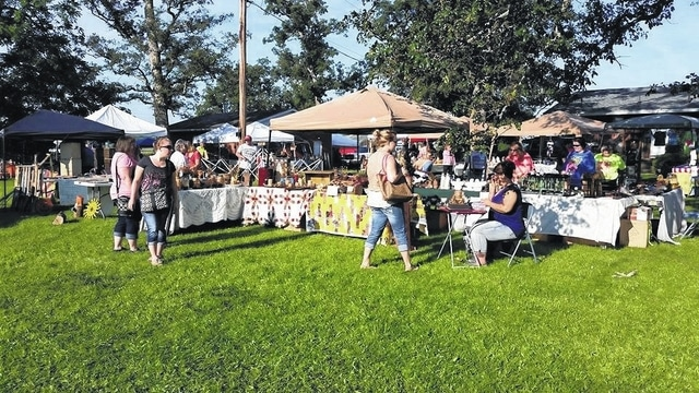 Becky's Country Candles Crafter's Yardsale will be held on Aug. 6 from 9 a.m. to 4 p.m. and Aug. 7 from 11 a.m. to 4 p.m. As of the last count, about 160 vendors will be at the sale, according to Corns.