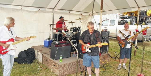 The band Country Express kicked off the musical entertainment at the 2016 Fayette County Fair Monday, July 18.