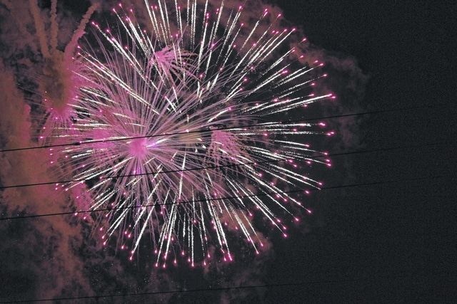 The Jeffersonville Lions Club sponsored a Fourth of July fireworks display for the village on Monday evening. The display entertained residents and complemented other events to celebrate Independence Day in the village.