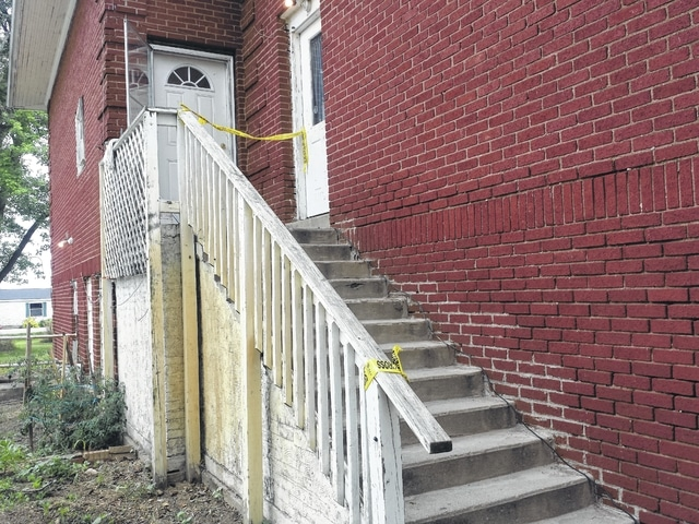 """A body was found Wednesday night at this apartment building in the small community of Yatesville. The Fayette County Sheriff's Office is investigating this discovery as a """"suspicious death."""""""