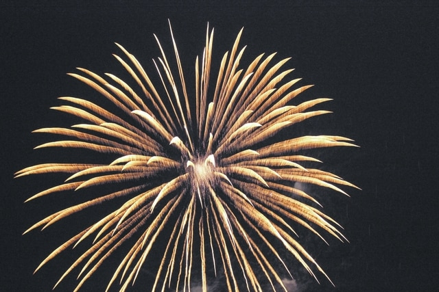 Residents came out Sunday evening to celebrate our nation's independence with the community at the annual Fire In The Sky fireworks display in Washington C.H. Pictured are a few fireworks from the display.