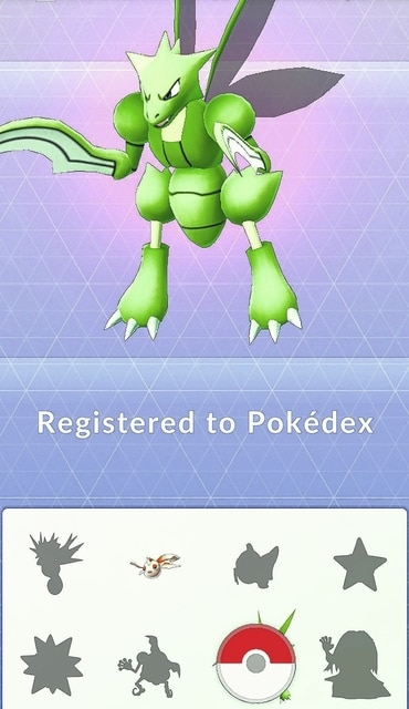 After catching a Pokémon, they are added to the player's Pokédex which has fun and interesting statistics on the creatures.
