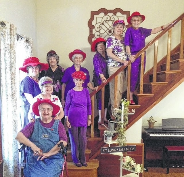 Dazzling Divas had their June monthly gathering at Rachel's House on State Route 41. A fabulous meal was enjoyed by all.