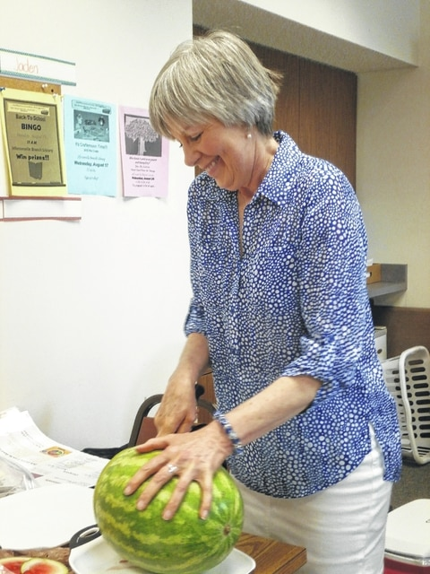Pat Brinkman, Fayette County OSU Nutrition Director, and Sarah Sowell, Fayette County OSU Program Assistant SNAP-Ed, led a workshop recently at the Jeffersonville Branch Library.