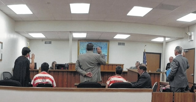 Three interpreters were sworn in Tuesday during the preliminary hearing for the murder case of Venancio Garcia-Arquimides, of Bloomingburg.