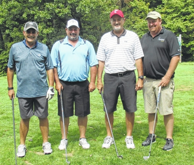 The 2016 Chamber Golf Outing first place team was David DaRif, Jerry Mount, Mark Heiny and Brad Patton.