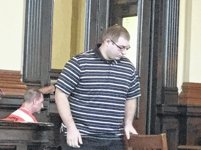 Dalton J. Leyes appeared Monday in the Fayette County Court of Common Pleas on charges of compelling prostitution and unlawful sexual conduct with a minor who is allegedly 15-years-old. During Monday's hearing Leyes attempted to have his attorney dismissed but was told by Steven Beathard, Fayette County Common Pleas Court Judge, that he needs to cooperate with his attorney in the case.