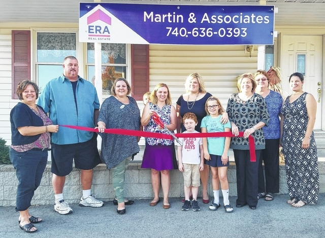 ERA Martin & Associates held their ribbon cutting to officially welcome them to the Fayette County Chamber of Commerce recently.