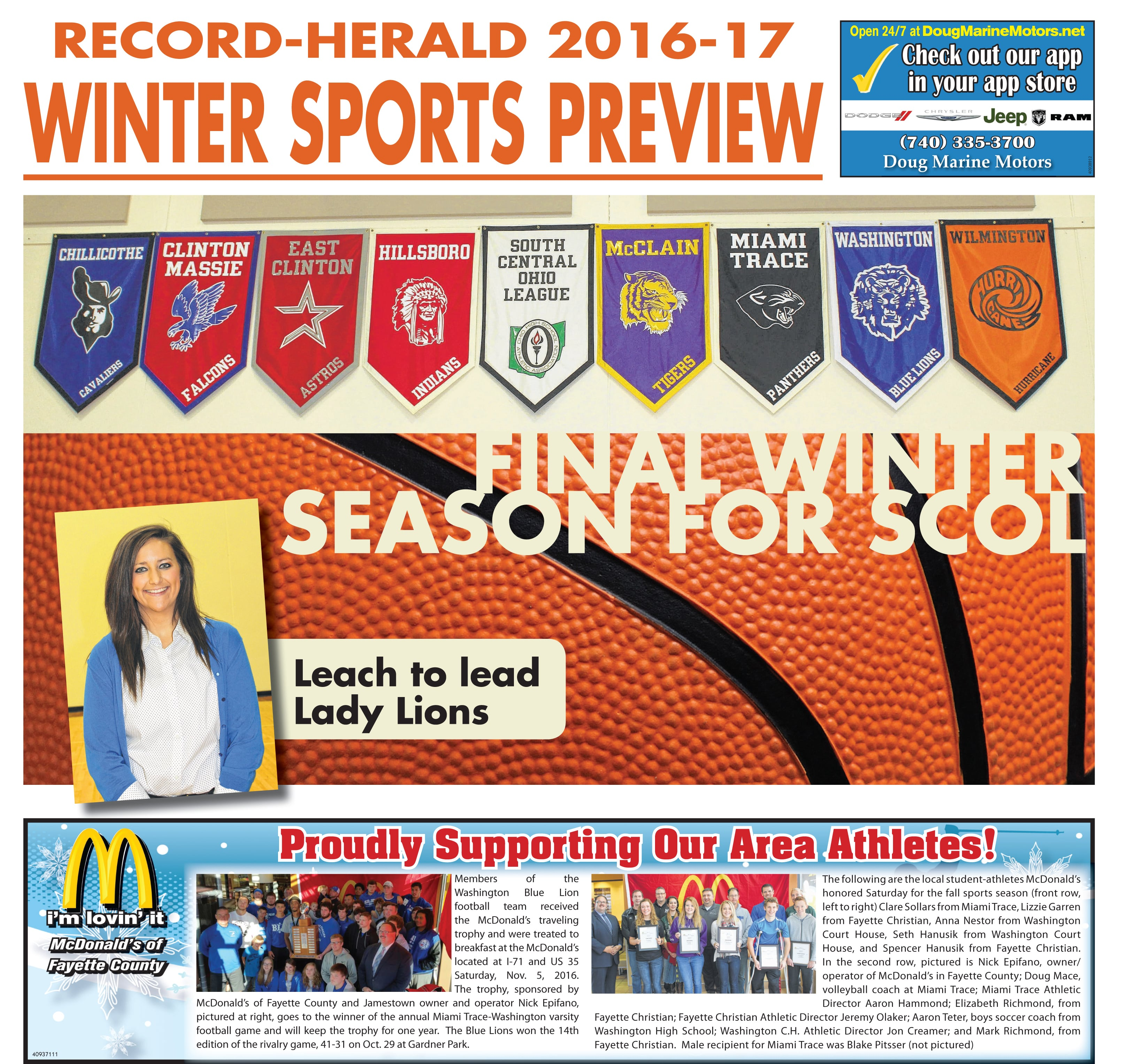 Winter Sports Preview 2016-2017