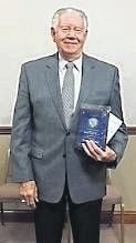 Ed Helt accepted a Citizen Honor Award at a recent Washington C.H. City Council meeting.