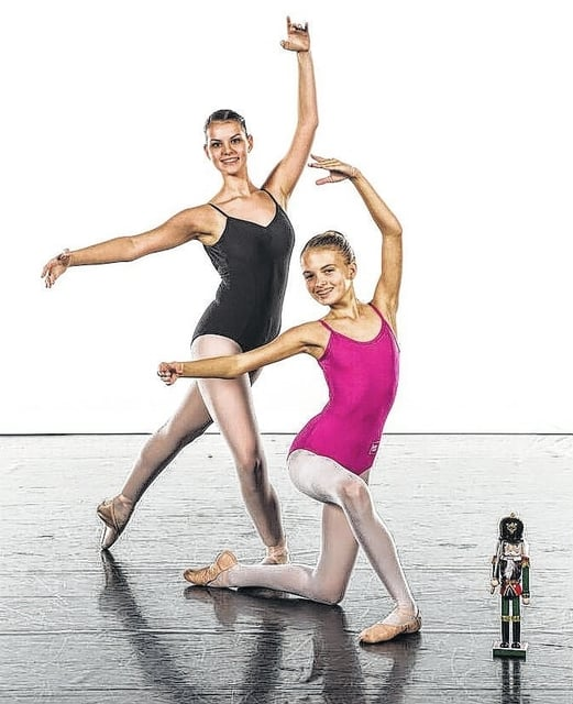 """Victoria Pontious and Hidy Kirkpatrick will be performing in BalletMet's """"The Nutcracker"""" from Dec. 9-24 at the historic Ohio Theatre in Columbus."""