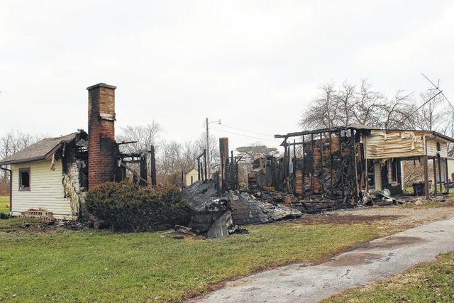 The home at 62 Jasper Coil Road was destroyed by fire early Sunday morning.