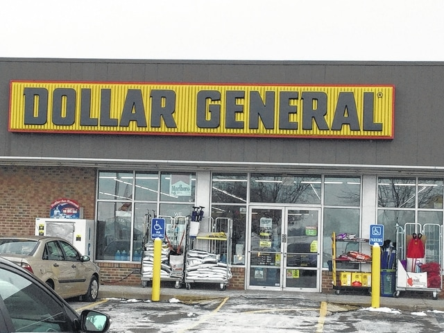 Dollar General on Columbus Avenue in Washington Court House.
