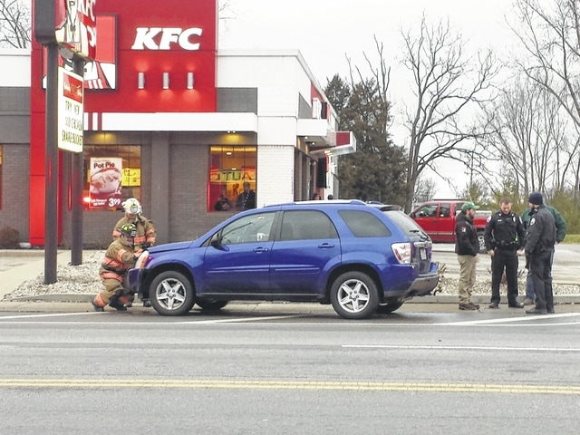 According to the Washington Police Department, one injury was reported from a two-vehicle accident Thursday in front of KFC on Court Street. The Washington Police and Fire departments both responded to the crash. One lane of traffic was blocked as crews worked to remove the vehicles from the scene.