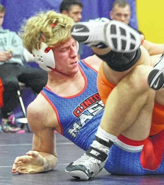 Anthony Tissandier's victory in the final match of the night broke a tie and lifted the Clinton-Massie wrestling team to a 39-36 win over Miami Trace Thursday night.