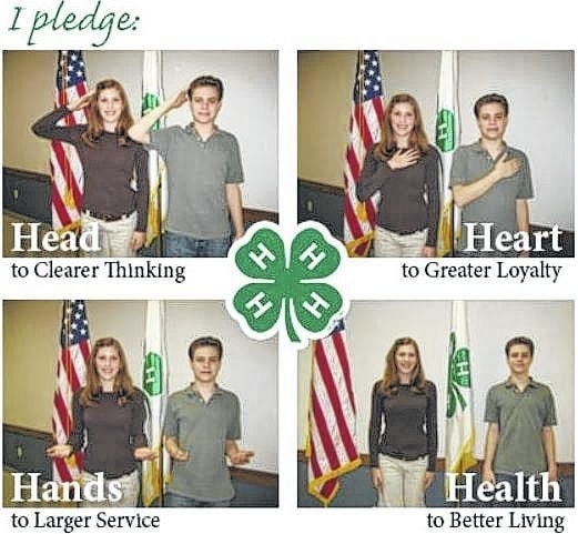 The 4-H Pledge